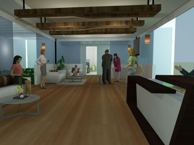Proposed office interior
